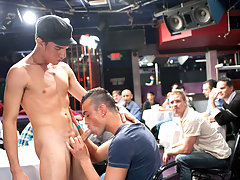 Hot hunky gay male strippers!